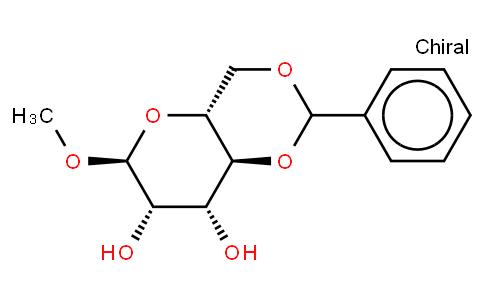 Methyl 4,6-O-benzylidene α-D-mannopyranoside