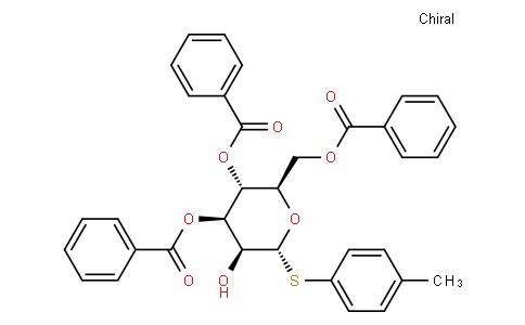 4-Methylphenyl 3,4,6-tri-O-benzoyl-1-thio-α-D-mannopyranoside