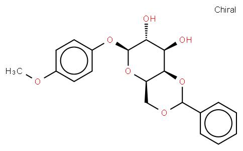 4-Methoxy1phenyl 4,6-O-Benzylidene-beta-D-galactopyranoside