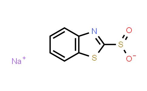 2-Benzothiazolesulfinic acid, sodium salt (1:1)
