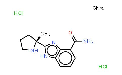 2-[(2R)-2-Methylpyrrolidin-2-yl]-1H-benimidazole-4- carboxamide