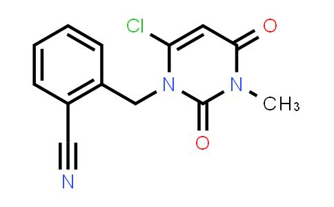 2-[(6-Chloro-3,4-dihydro-3-Methyl-2,4-dioxo-1(2h)-pyriMidinyl)Methyl]benzonitrile