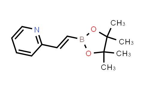 2-[(E)-2-(4,4,5,5-tetramethyl-1,3,2-dioxaborolan-2-yl)ethenyl]pyridine