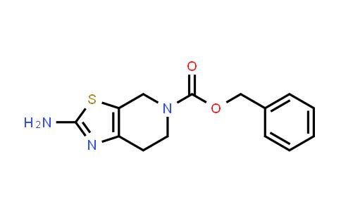 2-Amino-5-Cbz-4,5,6,7-tetrahydro-1,3-thiazolo[5,4-c]pyridine