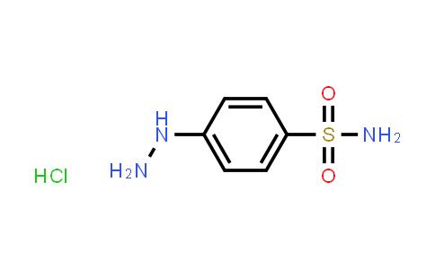 4-Hydrazinobenzene-1-sulfonamide hydrochloride