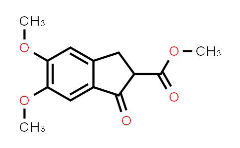 5,6-Dimethoxy-2-methoxycarbonyl-1-indanone