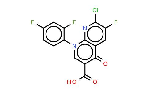 1-(2,4-DIFLUOROPHENYL)-6-1LUORO-7-CHLONDE-4-OXO-1,4-DIHYDRO-1,8-NAPTHYRIDINE-3-CARBOXYLIC ACID[TOSUFLOXACIN PHARMACEUTICAL INTERMEDIATE]