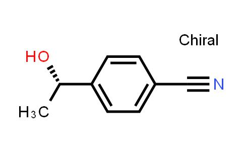 Benzonitrile, 4-[(1S)-1-hydroxyethyl]- (9CI)