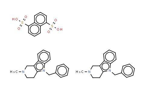 mebhydroline 1,5-naphthalenedisulfonate