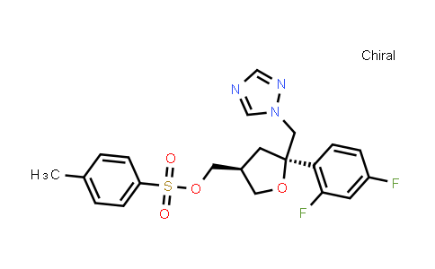 ((3S,5R)-5-((1H-1,2,4-triazol-1-yl)methyl)-5-(2,4-difluorophenyl)tetrahydrofuran-3-yl)methyl 4-methylbenzenesulfonate