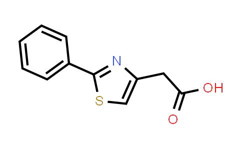 (2-Phenyl-1,3-thiazol-4-yl)acetic acid