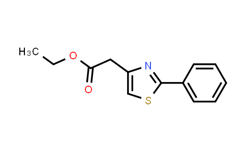 (2-PHENYL-THIAZOL-4-YL)-ACETIC ACID ETHYL ESTER