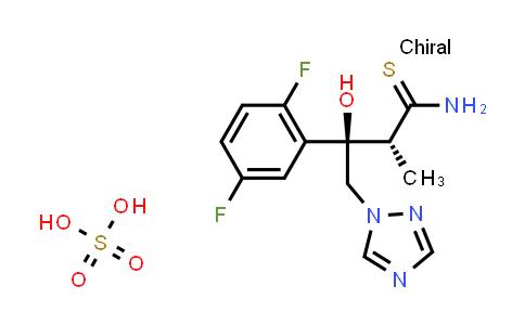 (2R,3R)-3-(2,5-Difluorophenyl)-3-hydroxy-2-methyl-4-(1H-1,2,4-triazol-1-yl)thiobutyramide sulfate