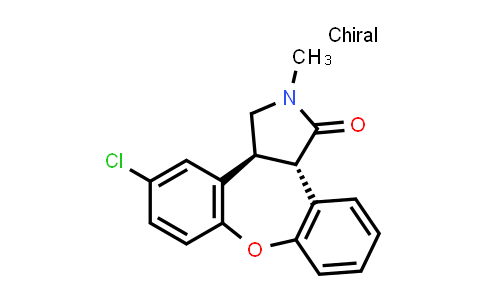 (3aS,12bS)-5-chloro-2-methyl-2,3,3a,12b-tetrahydro-1H-dibenzo[2,3:6,7]oxepino[4,5-c]pyrrol-1-one