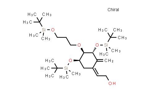 (Z)-2-((3R,4R,5R)-3,5-bis((tert-butyldimethylsilyl)oxy)-4-(3-((tert-butyldimethylsilyl)oxy)propoxy)-2-methylenecyclohexylidene)ethanol
