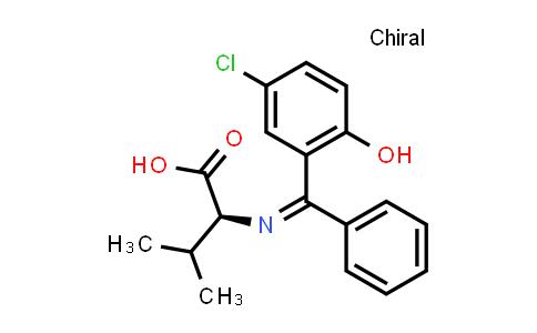 (Z)-N-[(5-Chloro-2-hydroxyphenyl)(phenyl)methylene]-L-valine