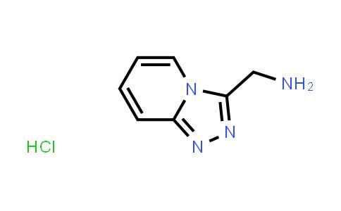 {[1,2,4]triazolo[4,3-a]pyridin-3-yl}methanamine hydrochloride