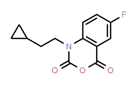 1-(2-CYCLOPROPYL-ETHYL)-6-FLUORO-1H-BENZO[D][1,3]OXAZINE-2,4-DIONE