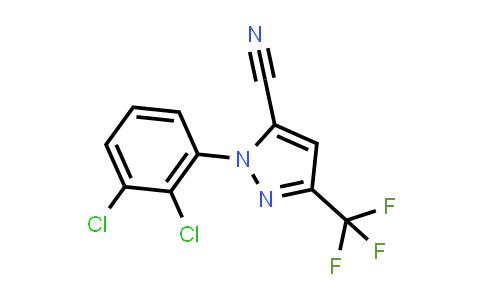 1-(2,3-Dichlorophenyl)-3-(trifluoromethyl)-1H-pyrazole-5-carbonitrile