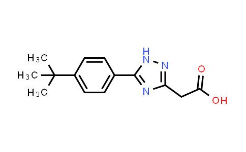 1H-1,2,4-Triazole-3-acetic acid, 5-[4-(1,1-dimethylethyl)phenyl]-