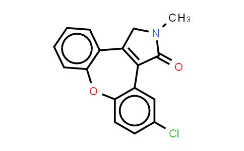 1H-Dibenz[2,3:6,7]oxepino[4,5-c]pyrrol-1-one,11-chloro-2,3-dihydro-2-methyl-