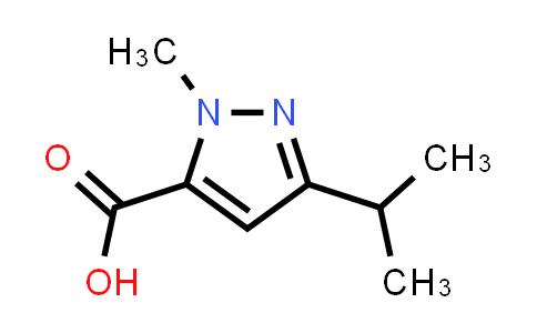 1-METHYL-3-ISOPROPYL-1H-PYRAZOLE-5-CARBOXYLICACID