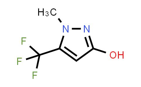 1-METHYL-5-(TRIFLUOROMETHYL)-1H-PYRAZOL-3-OL