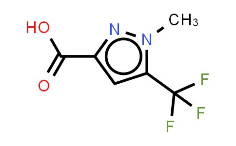 1-methyl-5-(trifluoromethyl)-1H-pyrazole-3-carboxylic acid(SALTDATA: FREE)