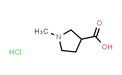 1-METHYL-PYRROLIDINE-3-CARBOXYLIC ACID HYDROCHLORIDE