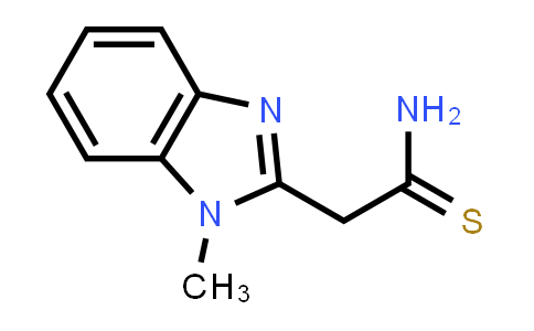 2-(1-METHYL-1H-BENZIMIDAZOL-2-YL)ETHANETHIOAMIDE