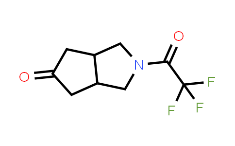 2-(2,2,2-Trifluoro-acetyl)-hexahydro-cyclopenta[c]pyrrol-5-one