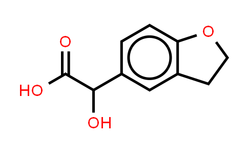 2,3-Dihydro-alpha-hydroxy-5-benzofuranacetic acid