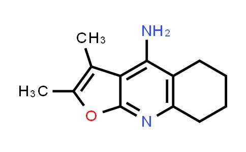 2,3-diMethyl-5,6,7,8-tetrahydrofuro[2,3-b]quinolin-4-aMine