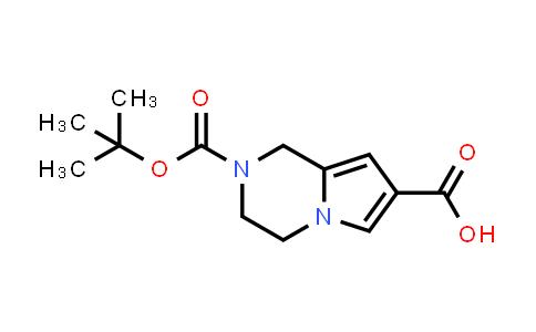 2-[(tert-butoxy)carbonyl]-1H,2H,3H,4H-pyrrolo[1,2-a]pyrazine-7-carboxylic acid