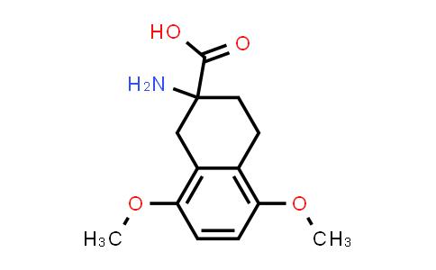2-amino-5,8-dimethoxy-1,2,3,4-tetrahydronaphthalene-2-carboxylic acid