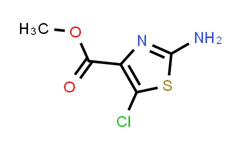2-Amino-5-chlorothiazole-4-carboxylic acid methyl ester