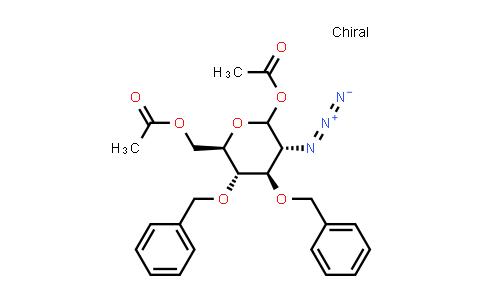 2-Azido-2-deoxy-3,4-bis-O-(phenylmethyl)-D-glucopyranose 1,6-diacetate