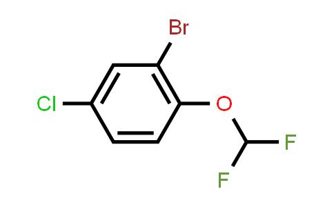 2-bromo-4-chloro-1-(difluoromethoxy)benzene