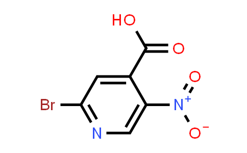 2-Bromo-5-nitro-4-Pyridinecarboxylic acid