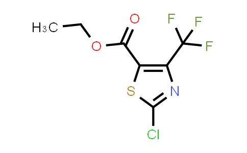 2-chloro-4-trifluoromethyl-thiazol-5-carboxylic acid-ethyl ester