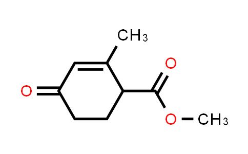 2-Cyclohexene-1-carboxylic acid, 2-methyl-4-oxo-, methyl este