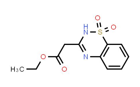 2H-1,2,4-Benzothiadiazine-3-acetic acid ethyl ester 1,1-dioxide