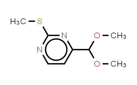 2-methylthiopyrimidine-4-carboxaldehyde dimethyl acetal