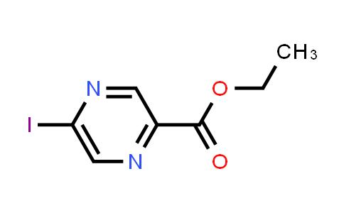 2-Pyrazinecarboxylic acid, 5-iodo-, ethyl ester