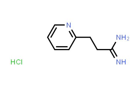 2-Pyridinepropanimidamide, hydrochloride (1:1)