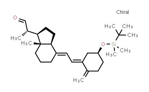 3(R)-(tert-butyldimethylsilyloxy)-20(S)-formyl-9,10-secopregna-5(Z),7(E),10(19)-triene