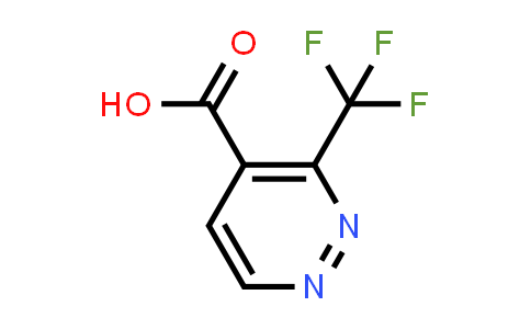 3-(trifluoromethyl)pyridazine-4-carboxylic acid
