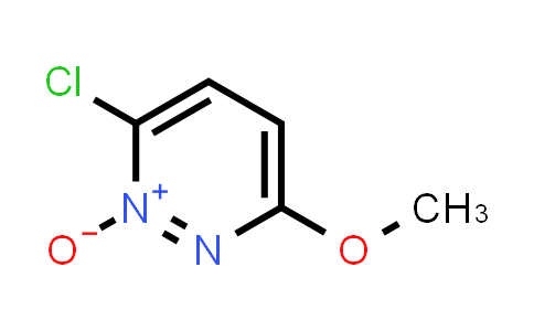 3-chloro-6-methoxy-pyridazine 2-oxide