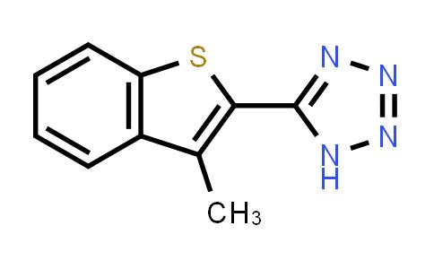 3-methyl-2-(1H-tetrazol-5yl) benzothiophene