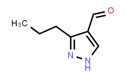 3-PROPYL-1H-PYRAZOLE-4-CARBALDEHYDE